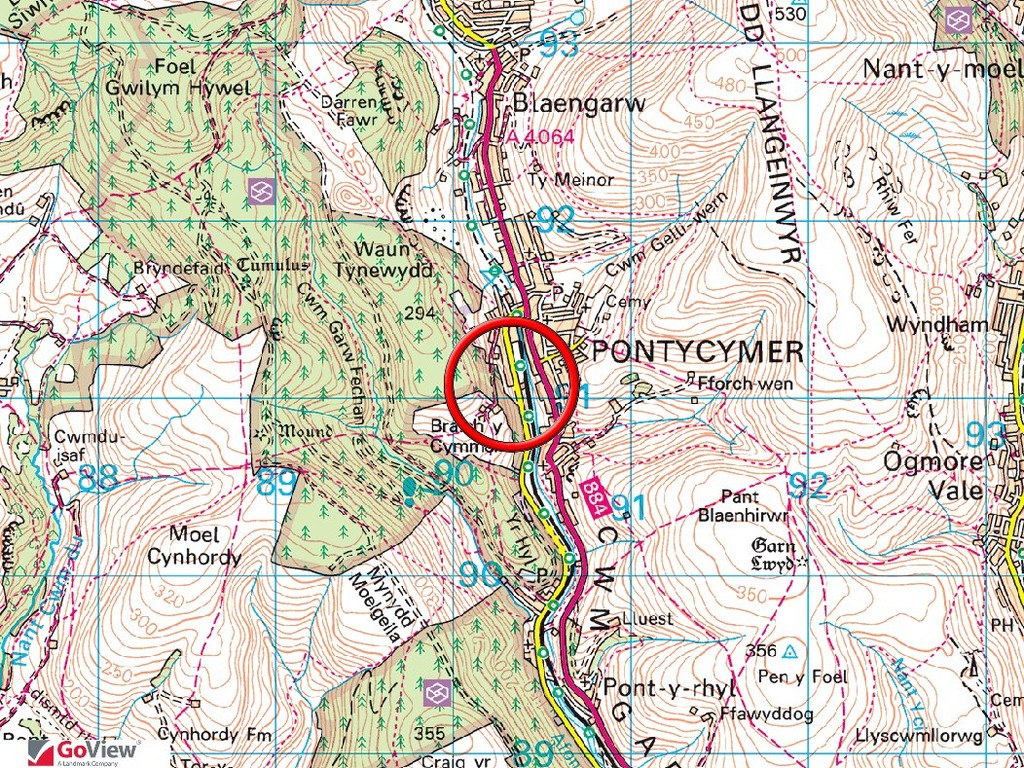 LOT 6 Land adjacent to 72 Bridgend Road, Pontycymmer, Bridgend, CF32 8EH