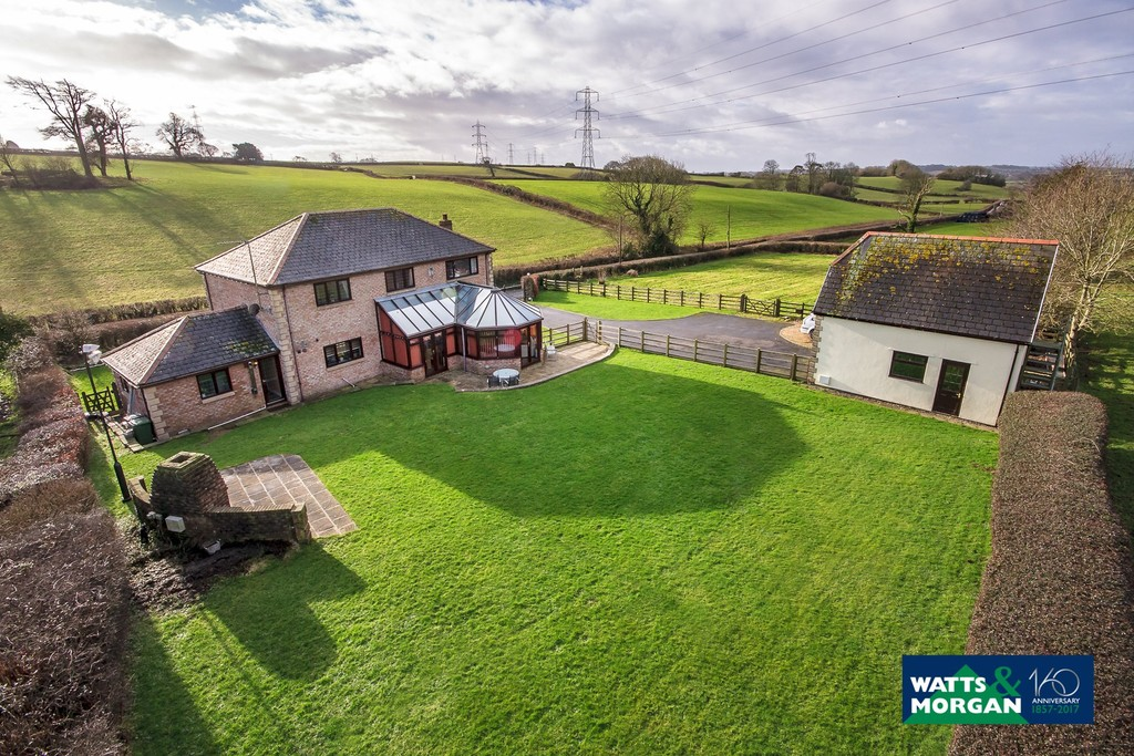 Modern Detached Family Home In An Enviable Location Set Within An Acre Plot, Welsh St Donats, Nr Cowbridge
