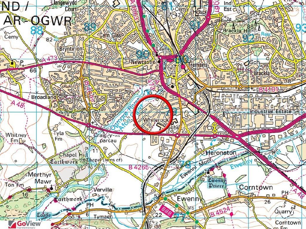 96 Merthyr Mawr Road, Bridgend, Bridgend County Borough, CF31 3NS.