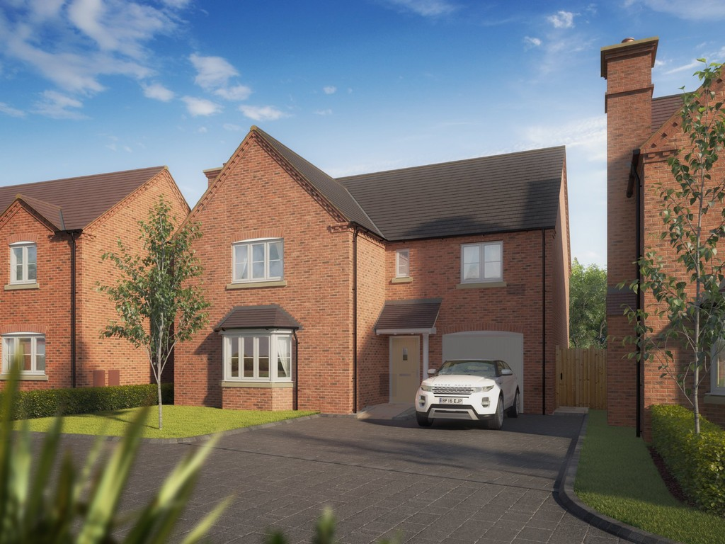 4 Bedroom Detached House, Plot 19 The Thornton, Seven Arches, Barford