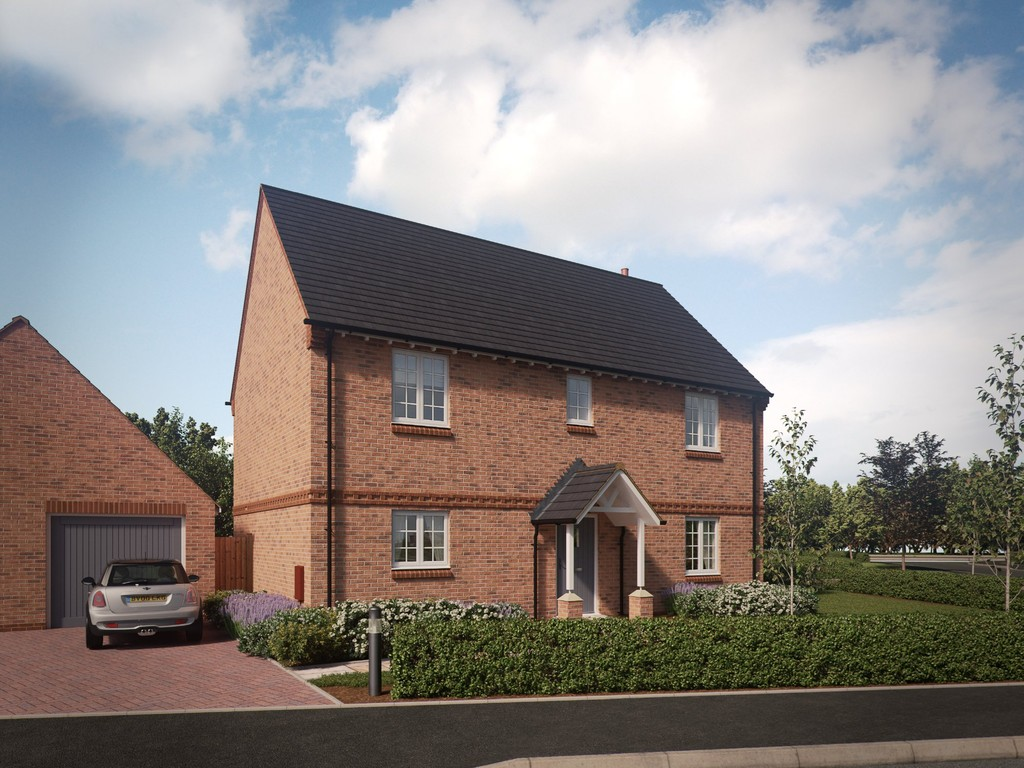 4 Bedroom Detached House, Plot 32, Upper Acres, Ettington