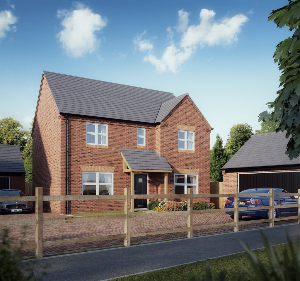 4 Bedroom Detached House, Plot 25 The Hidcote, Swithin's Wood