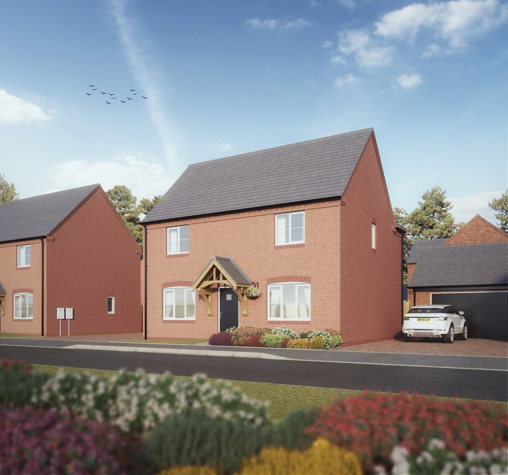 4 Bedroom Detached House, Plot 6 The Austrey, Swithin's Wood
