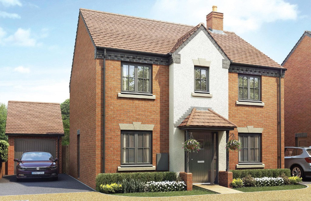 4 Bedroom Detached House, Plot 220 The Mallory, Oakley Grove, Harbury Lane
