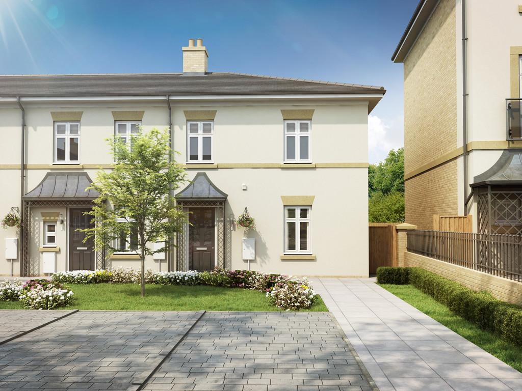 3 Bedroom End Terraced House, Plot 34, Chester Terrace, Regents Green