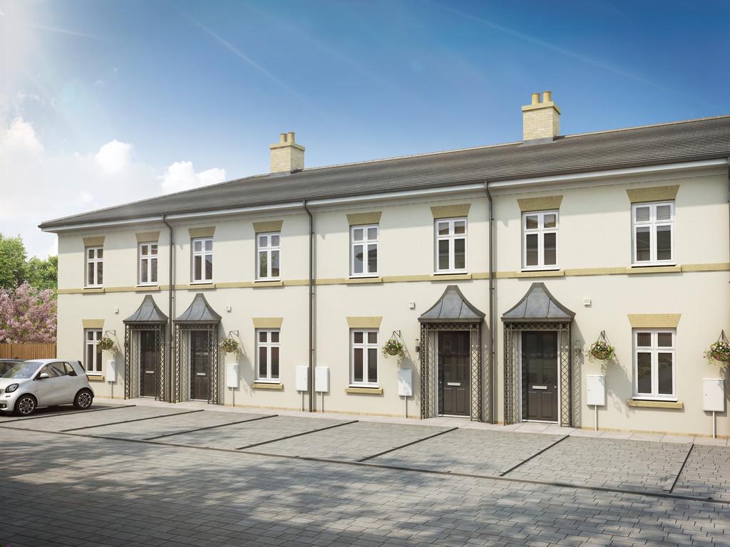 2 Bedroom Mid Terraced House, Plot 35 Chester Terrace Regents Green