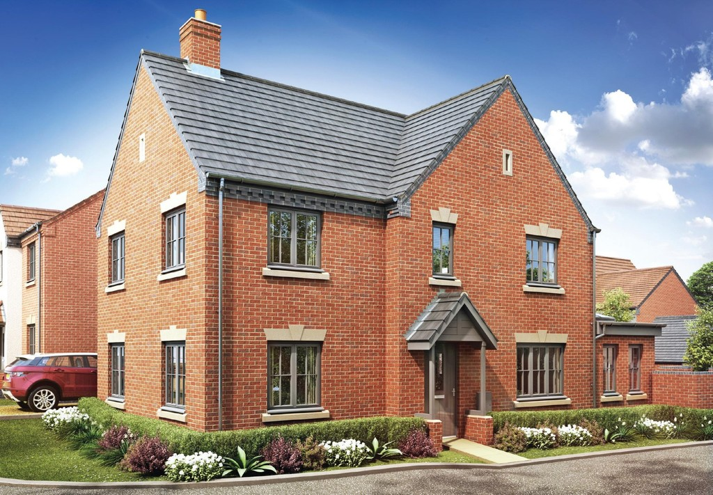 4 Bedroom Detached House, Plot 214 The Penfold, Oakley Grove