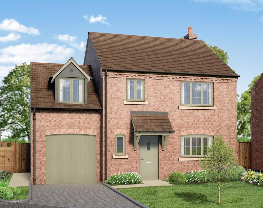 3 Bedroom Detached House, Plot 8, Salter's Oak, Great Alne