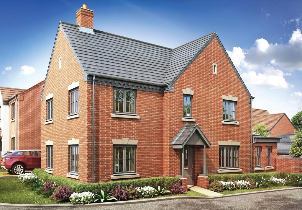 4 Bedroom Detached House, Plot 150 The Penfold, Oakley Grove