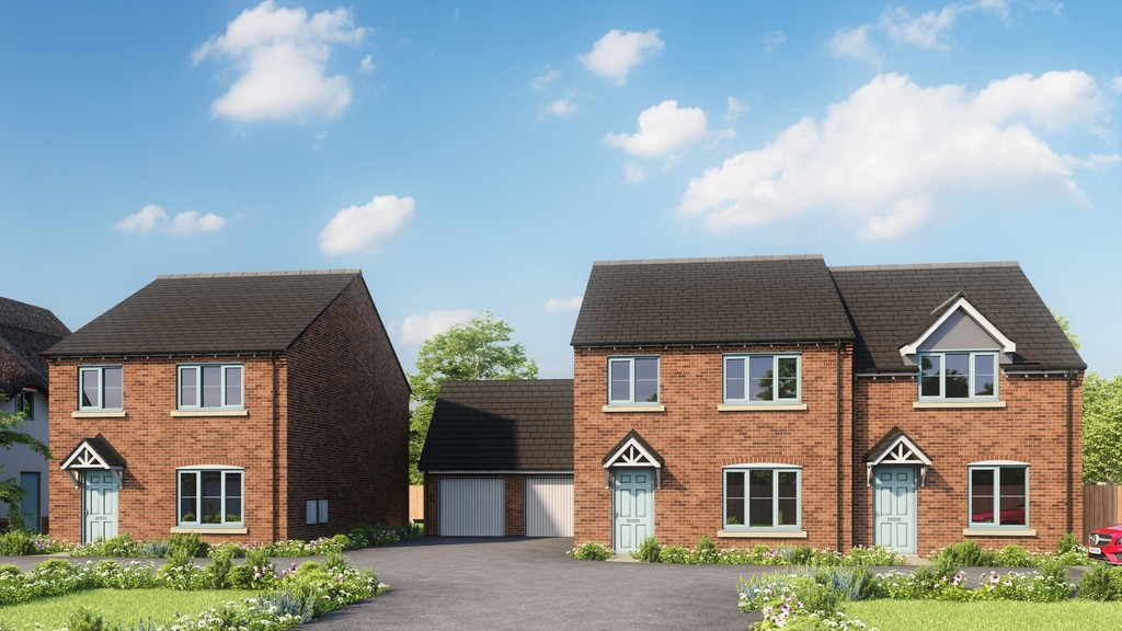2 Bedroom Semi-Detached House, Coming Soon Plot 6, Blewbury Copse, Little Kineton