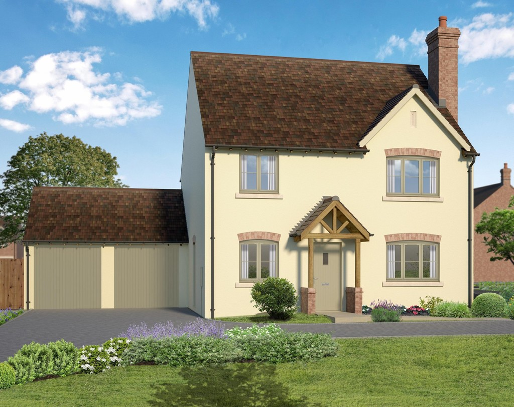 4 Bedroom Detached House, Plot 1 Spernal Lane, Great Alne