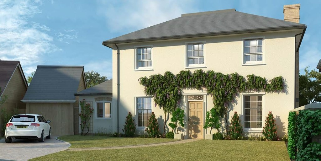 4 Bedroom Detached House, Plot 9 Shottery Green, Tavern Lane