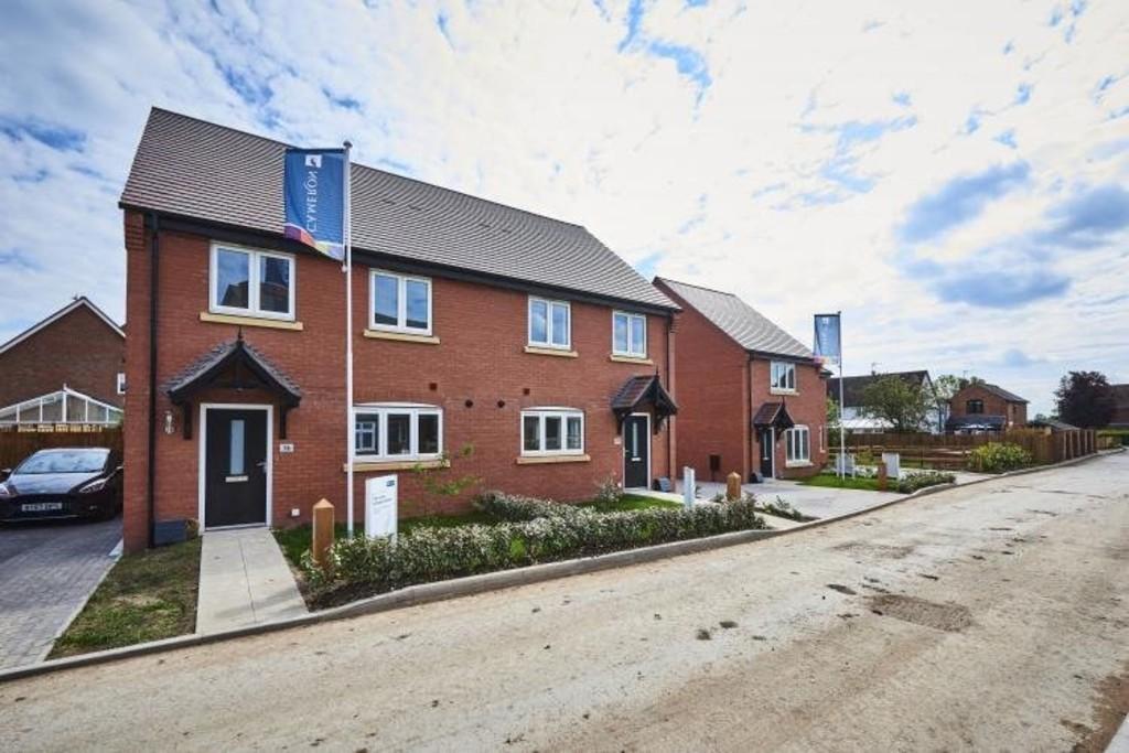 3 Bedroom Semi-Detached House, Plot 16, Beaufort Park, Long Marston