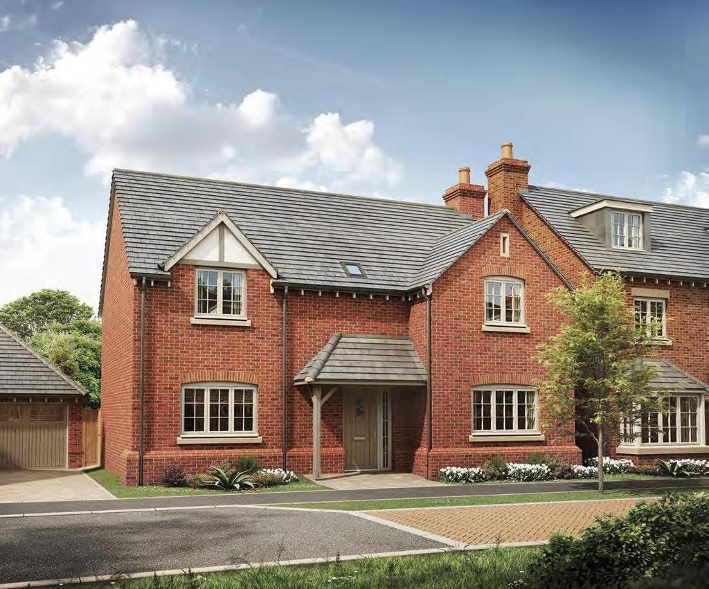 4 Bedroom Detached House, Plot 12 Calder, Avon View, Welford On Avon