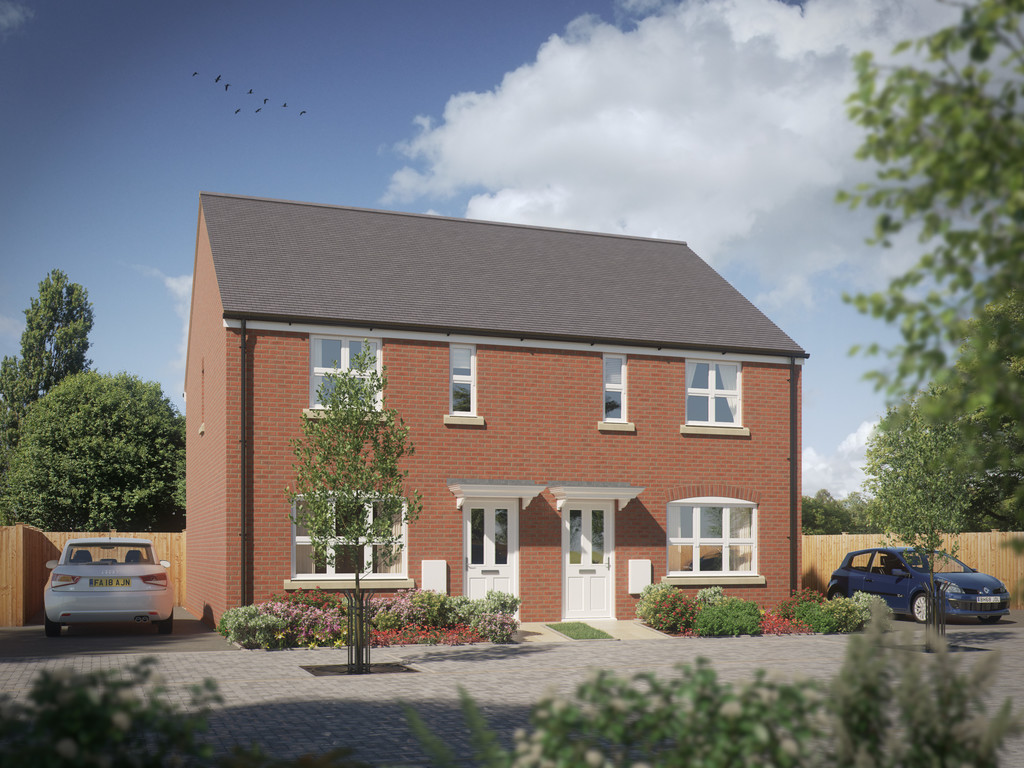 3 Bedroom Semi-Detached House, Plot 87, The Oak, The Grange, Wellesbourne