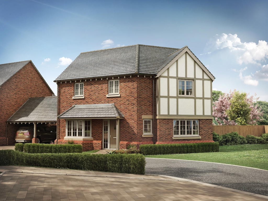 3 Bedroom Detached House, Plot 18 Wharfe, Avon View, Welford On Avon
