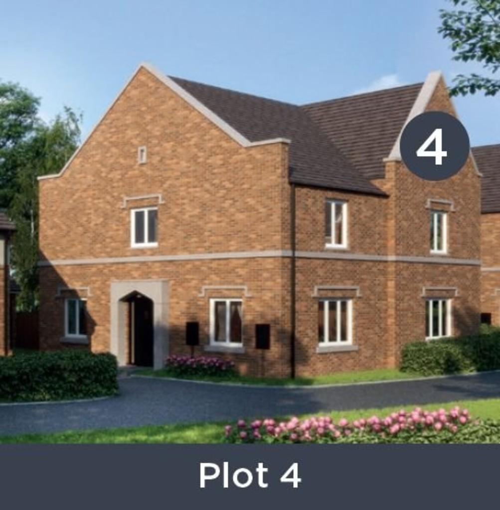 3 Bedroom Semi-Detached House, Plot 4, Lower House Gardens, Redditch