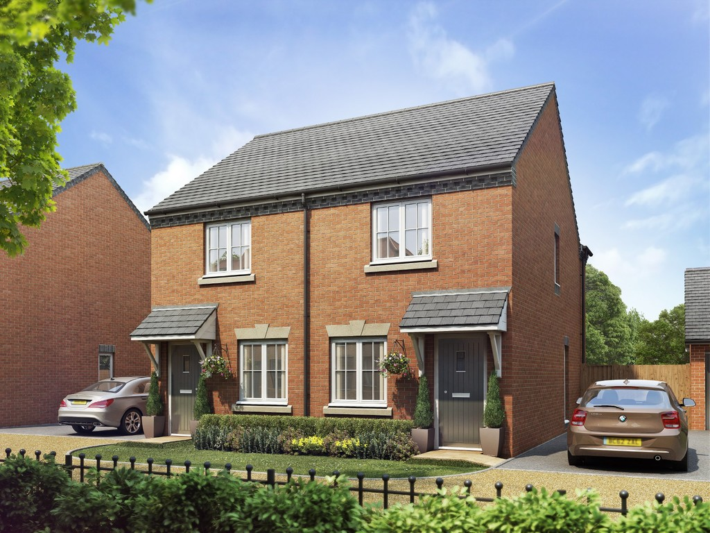 2 Bedroom Semi-Detached House, Plot 140, The Argyle, Oakley Grove