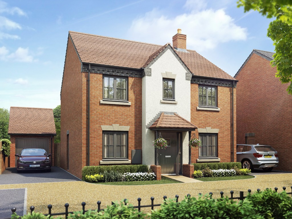 4 Bedroom Detached House, Plot 99, The Mallory, Oakley Grove