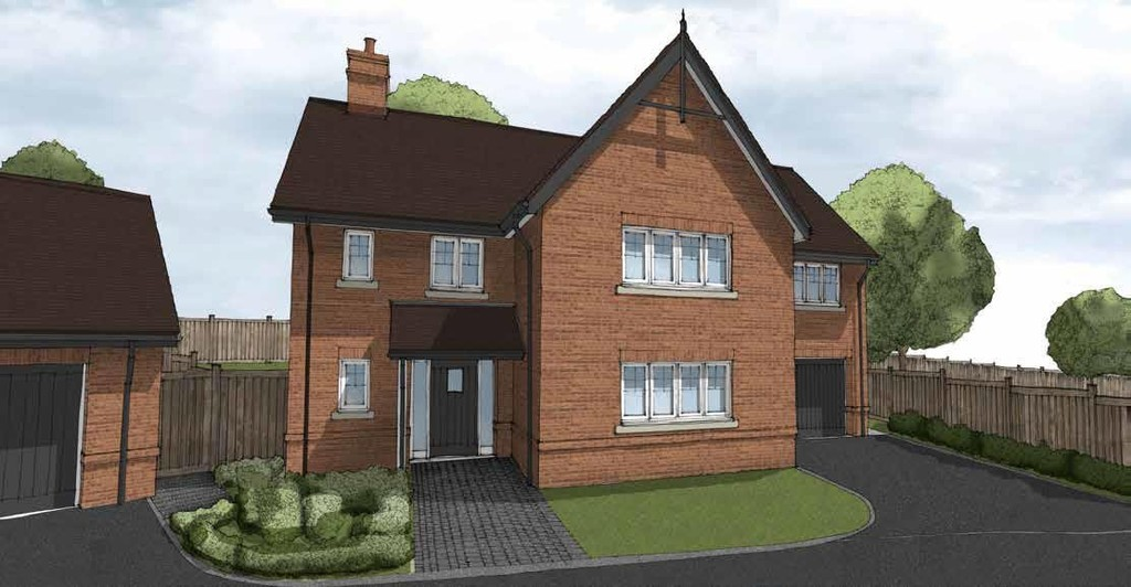 4 Bedroom Detached House, Plot 1 Kingswood House, lake View, Earlswood