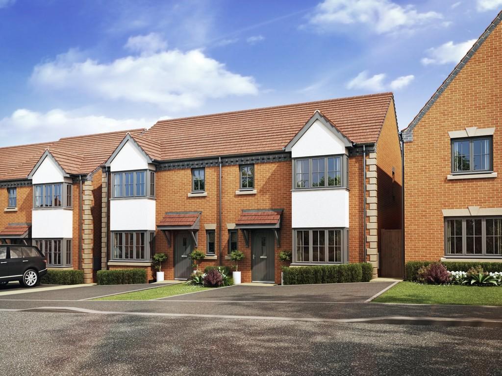 3 Bedroom Semi-Detached House, Plot 94 The Rye Green Home, Leamington Spa