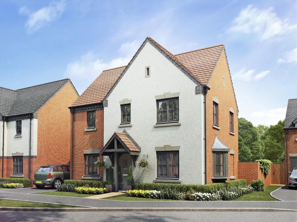 3 Bedroom Detached House, Plot 206, The Kingsley, Oakley Grove