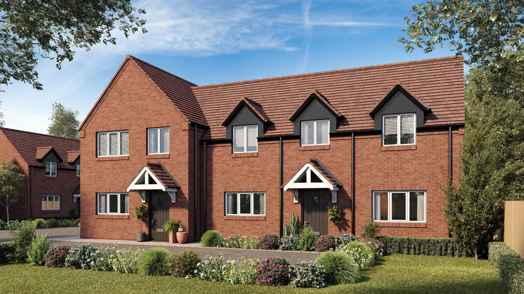3 Bedroom Semi-Detached House, Plot 3, Glen Close, Shipston On Stour