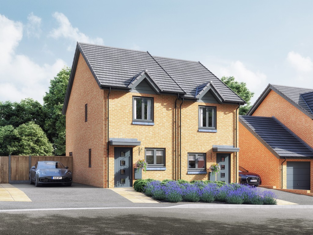 2 Bedroom Semi-Detached House, Plot 12, The Townsend, Mallory Gardens, Bishops Tachbrook