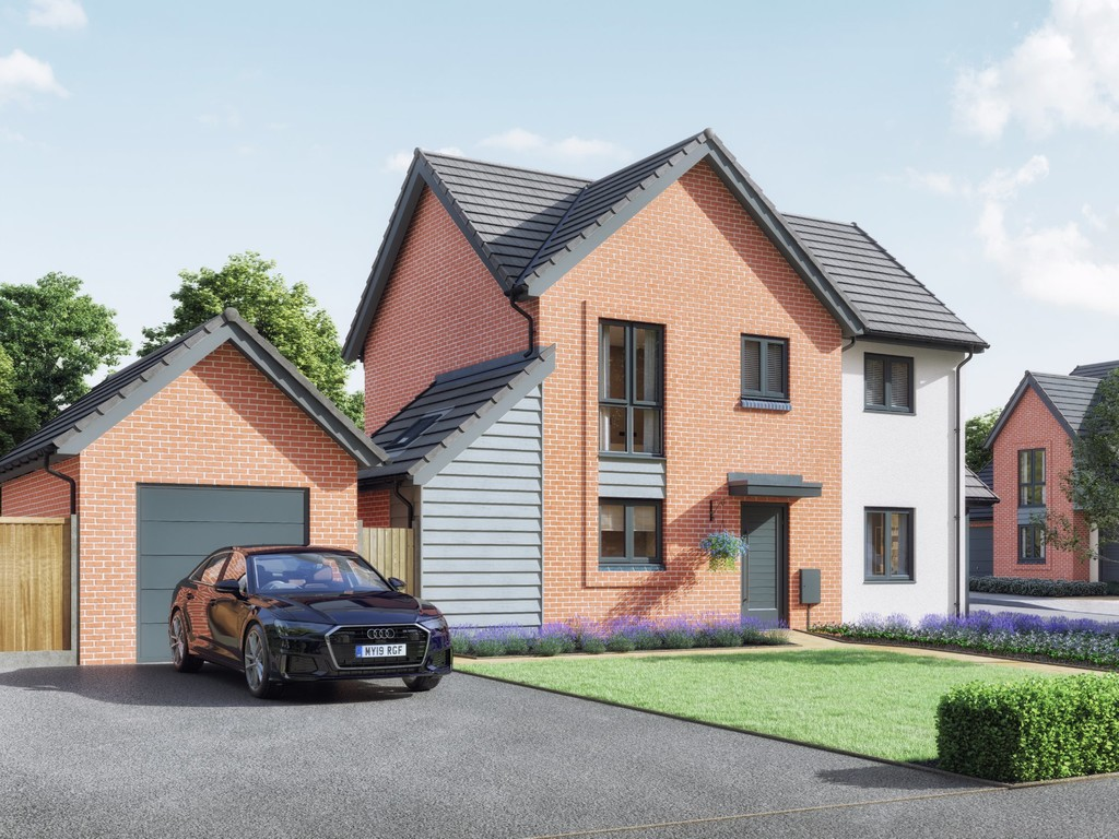 3 Bedroom Detached House, Plot 30, The Forest, Mallory Gardens, Bishops Tachbrook