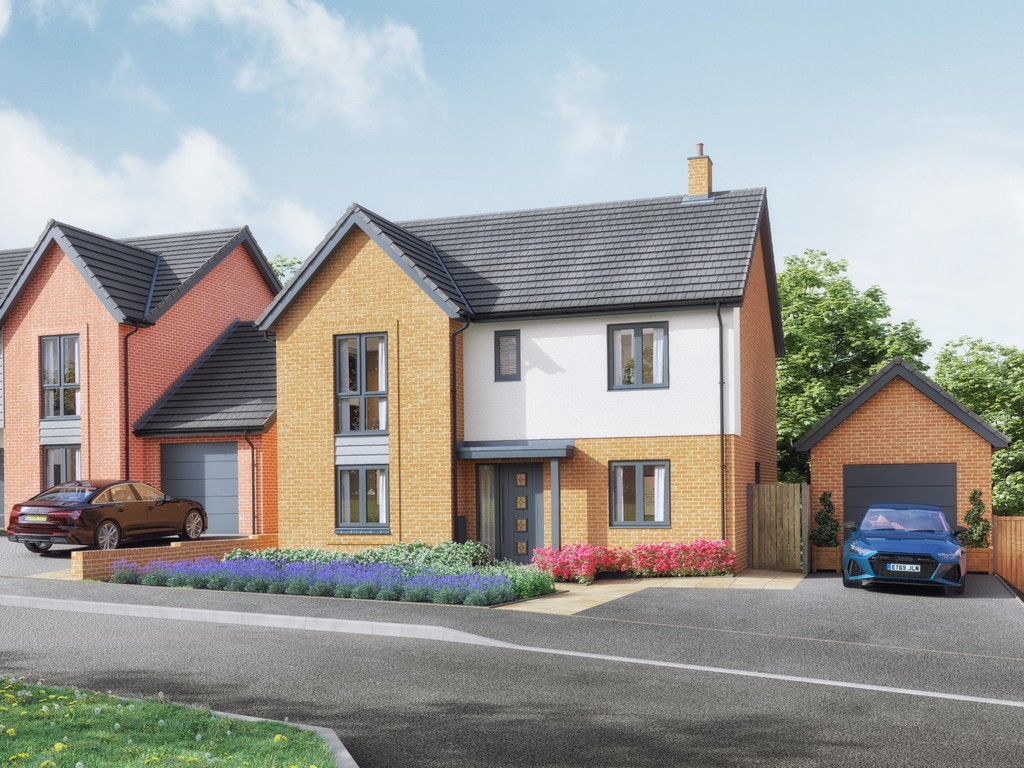 4 Bedroom Detached House, Plot 25 The Greenwood, Mallory Gardens, Bishops Tachbrook