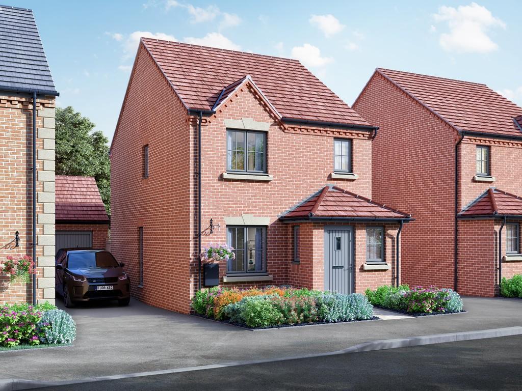 3 Bedroom Detached House, Plot 52, The Newbold, Bishops Tachbrook, Leamington Spa