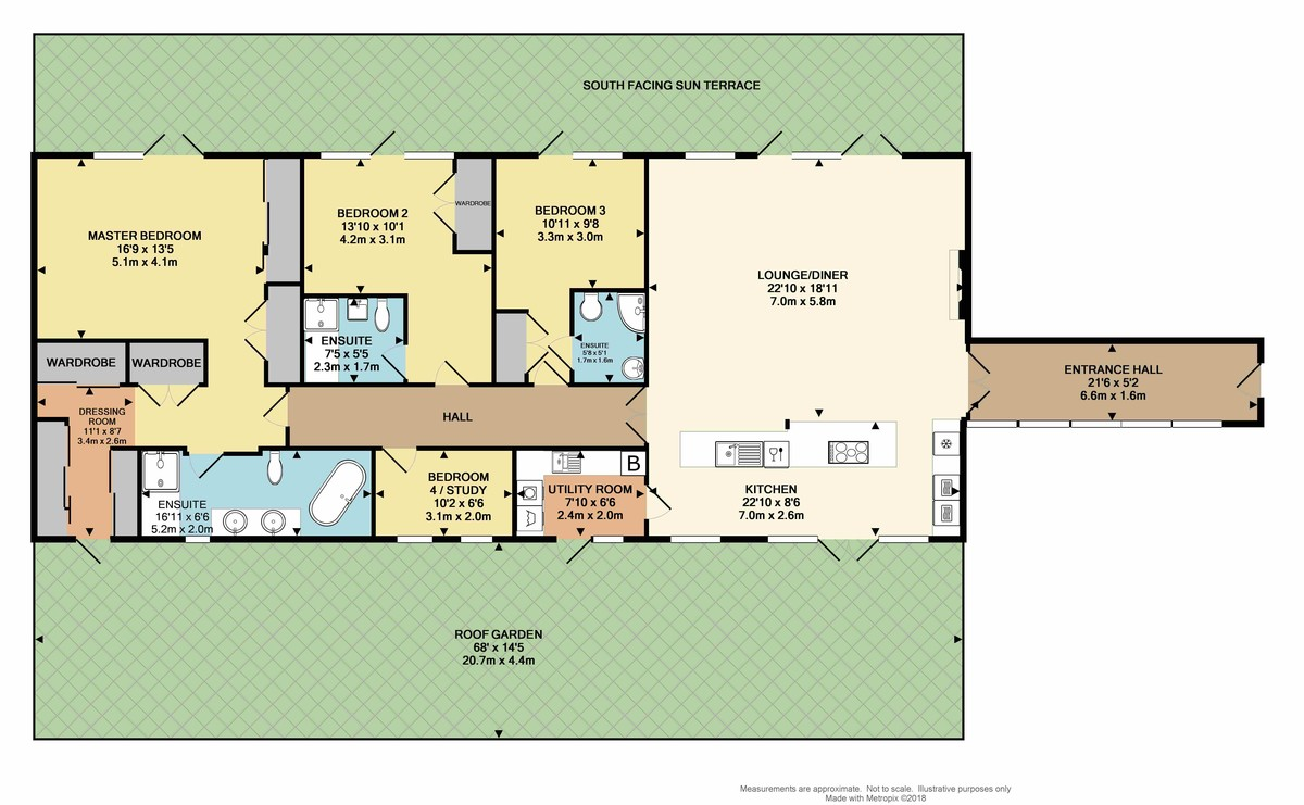 Azure, Cliff Road, The Hoe, Plymouth, PL1 2PE floorplan