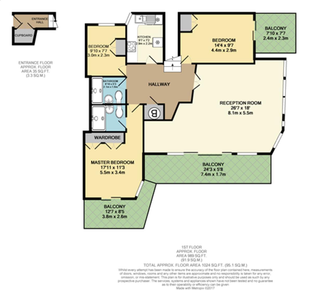 Sutton Mews, Mariners Court, Plymouth floorplan