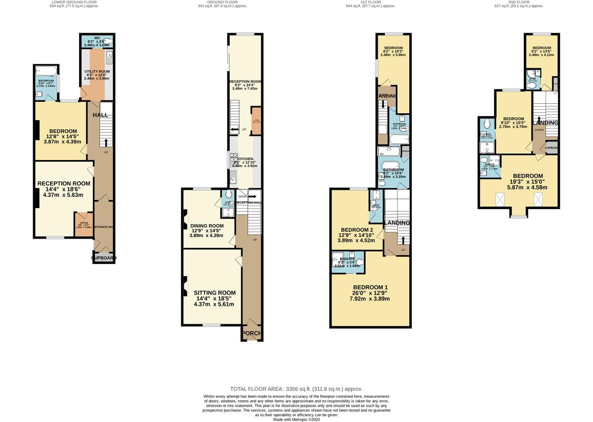 Athenaeum Street, The Hoe, Plymouth, Devon, PL1 2RQ floorplan