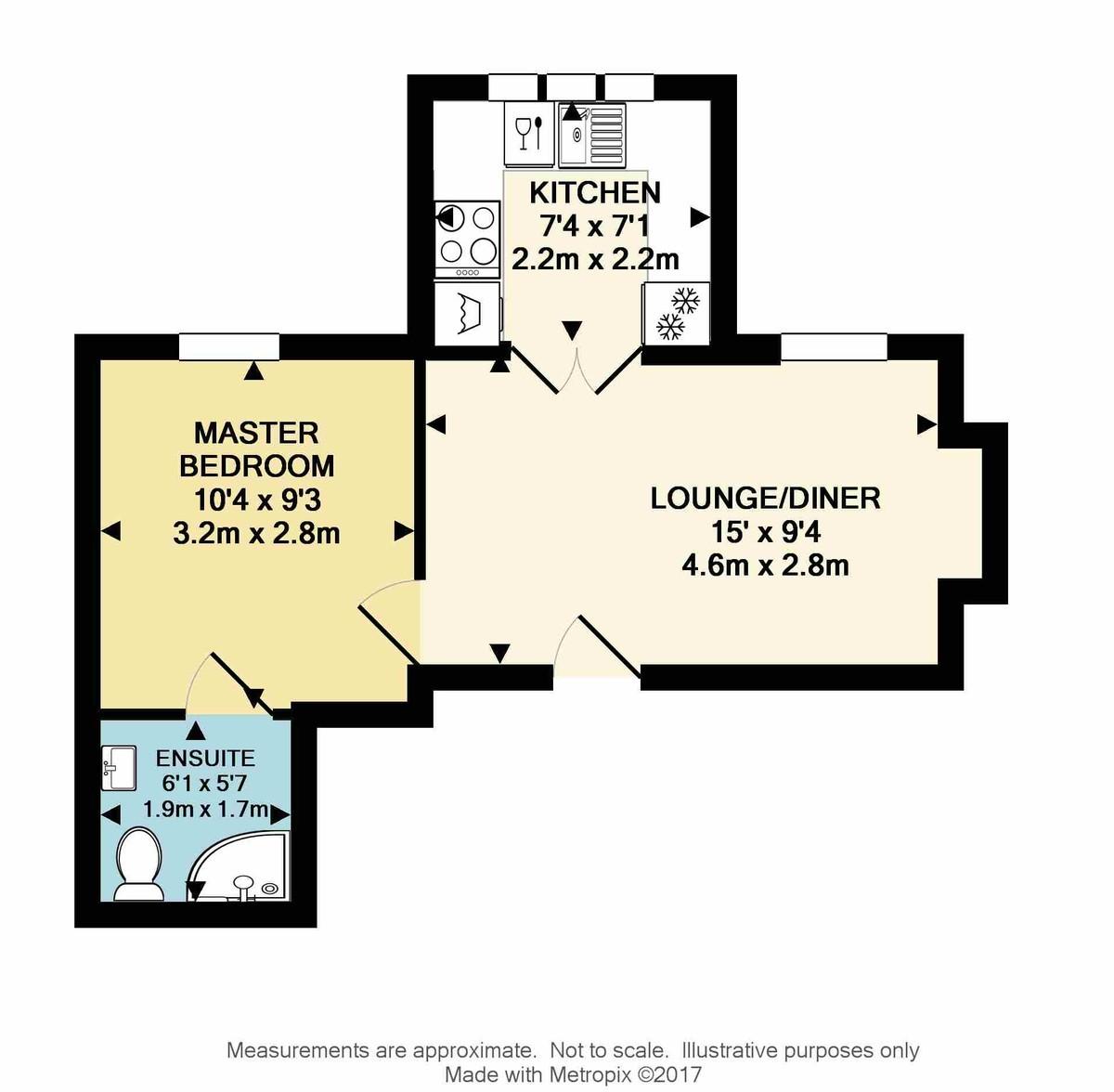 The Hoe, Plymouth floorplan