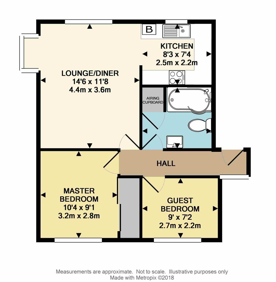 St. Michaels Close, Mutton Cove,  Devonport, Plymouth, PL1 4RX floorplan