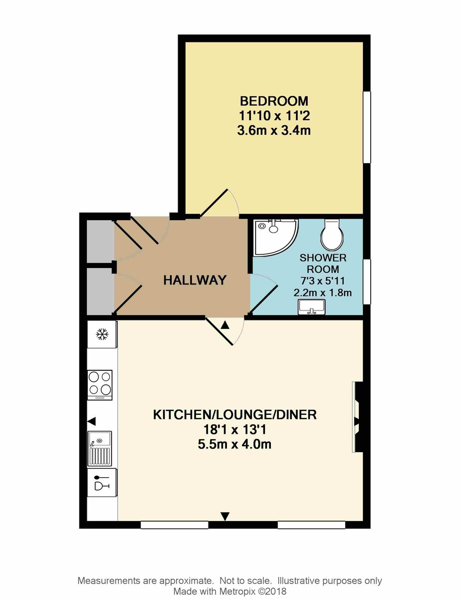 First Floor Flat, St James Place West, The Hoe, Plymouth, PL1 3AT floorplan