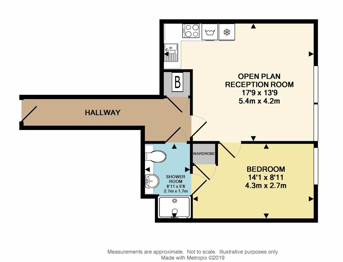 George Place, Millbay, Plymouth, Devon, PL1 3FJ floorplan