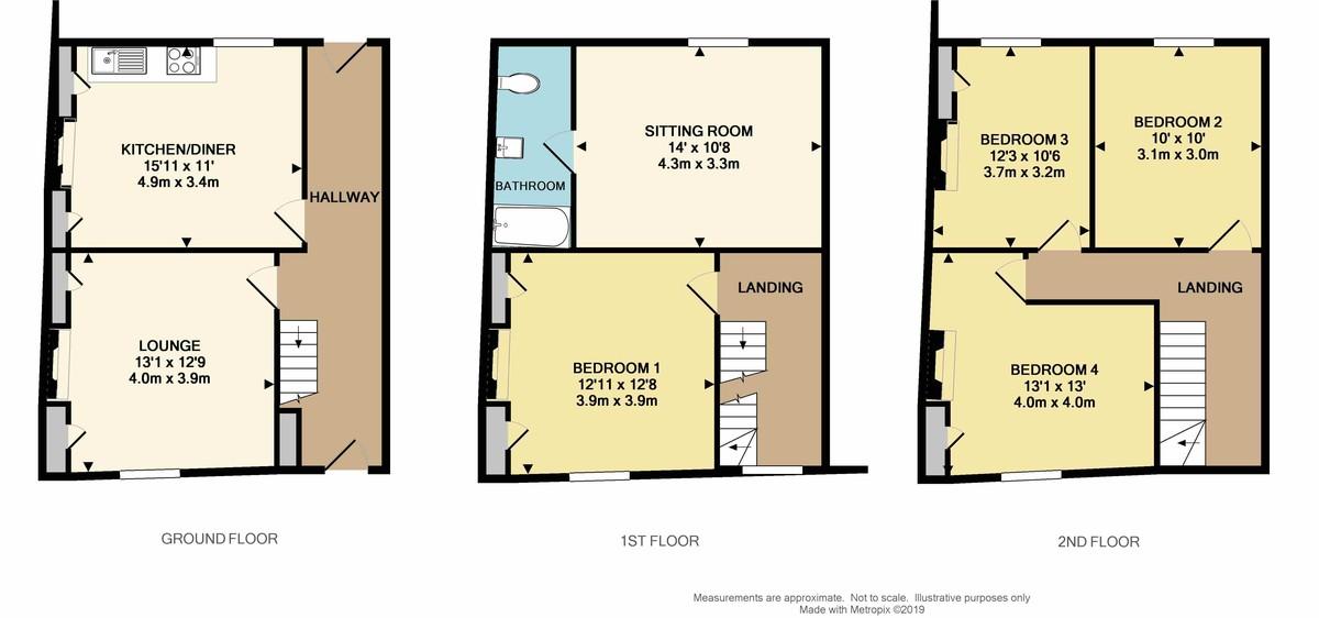 Stillman Street, The Barbican, Plymouth, PL4 0DR floorplan