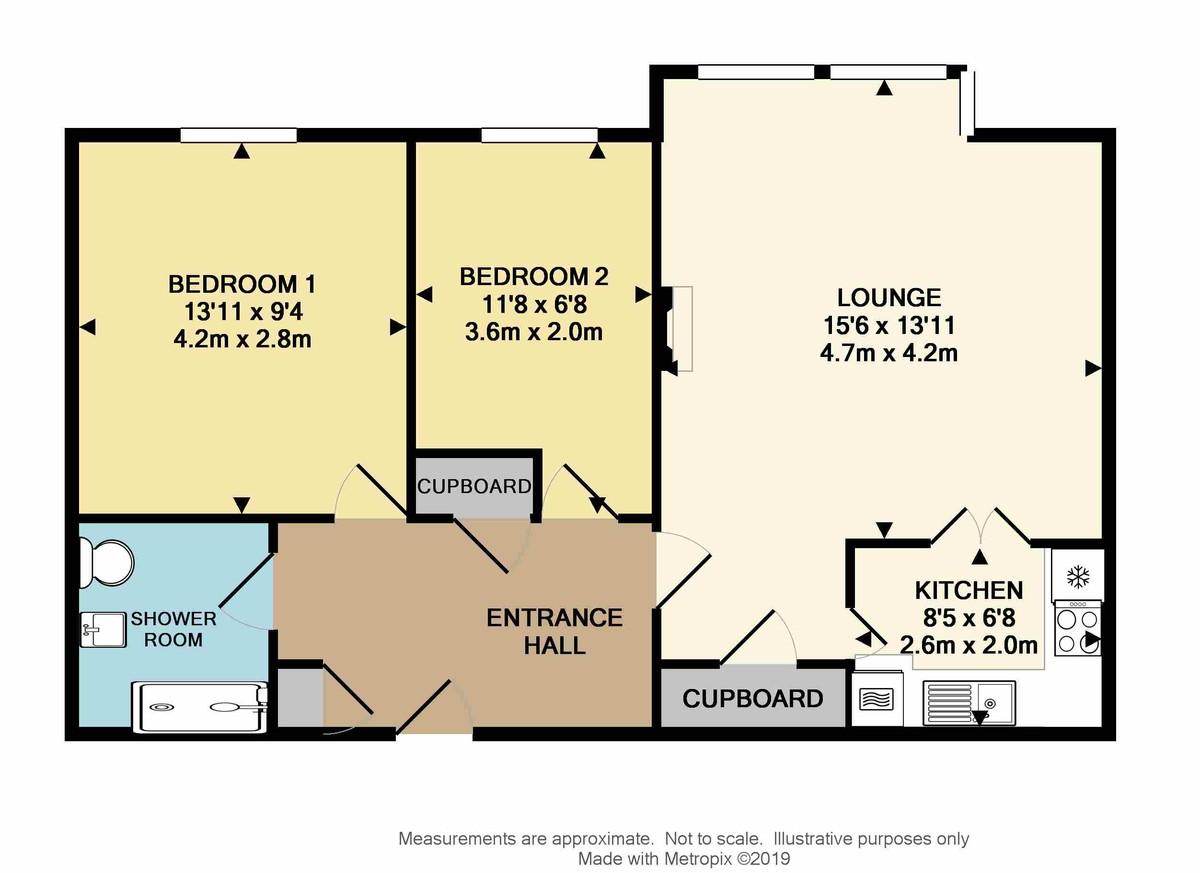 Osborne Court, Osborne Place, Lockyer Street, Plymouth, PL1 2PX floorplan