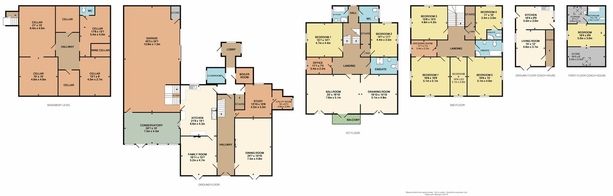Tor House, St. James Road, Torpoint, PL11 2BL floorplan
