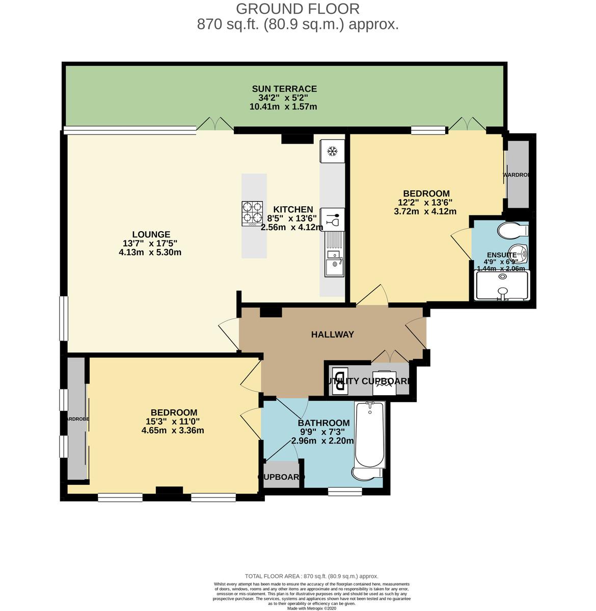 Quadrant Quay, Trinity Street, Millbay, Plymouth, Devon, PL1 3FT floorplan