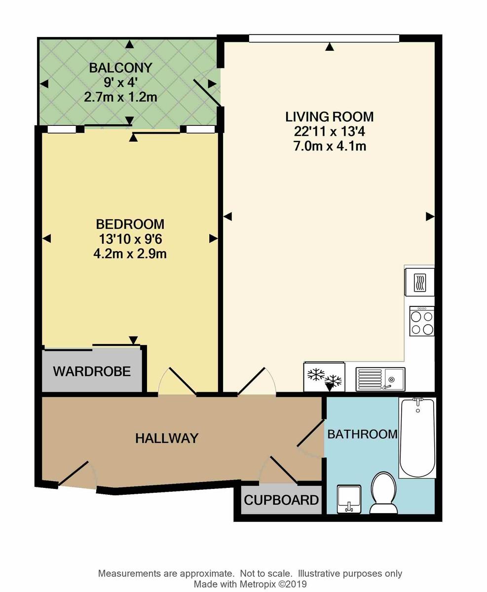 Brittany Street, Millbay, Plymouth, PL1 3FN floorplan