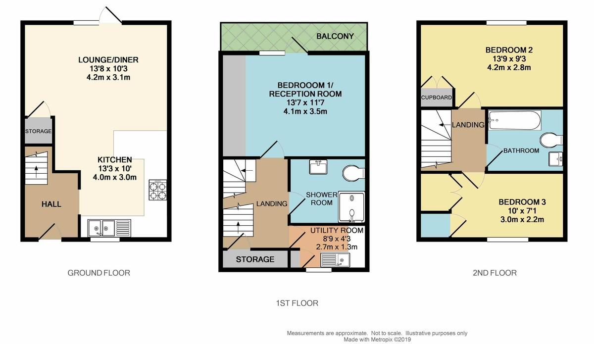 Telegraph Wharf, Stonehouse, Plymouth, Devon, PL1 3RD floorplan