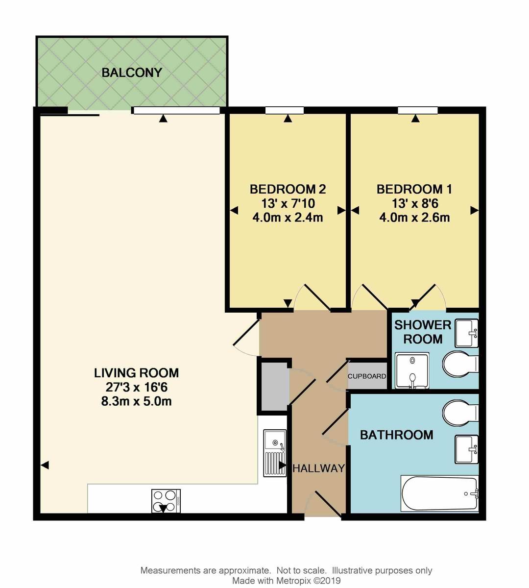 Armstrong House, 60 Exeter Street, Plymouth, Devon, PL4 0AP floorplan
