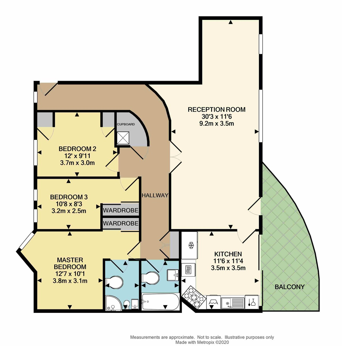 Queen Anne's Quay, 9 Parsonage Way, Plymouth, PL4 0LY floorplan
