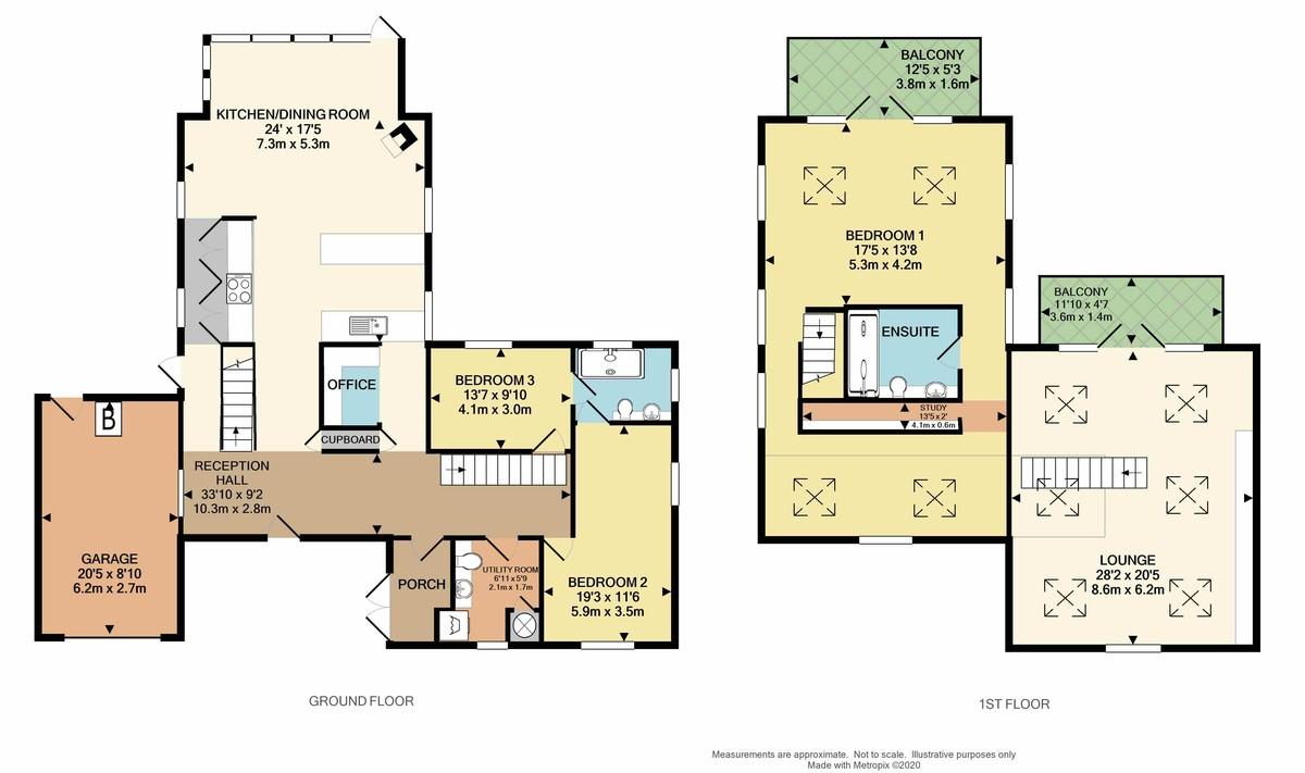 Pilgrim House, Cargreen, Saltash, Cornwall, PL12 6PA floorplan