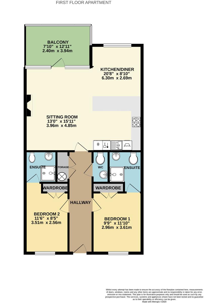 Richmond Walk, Stonehouse, Plymouth, PL1 4DQ floorplan