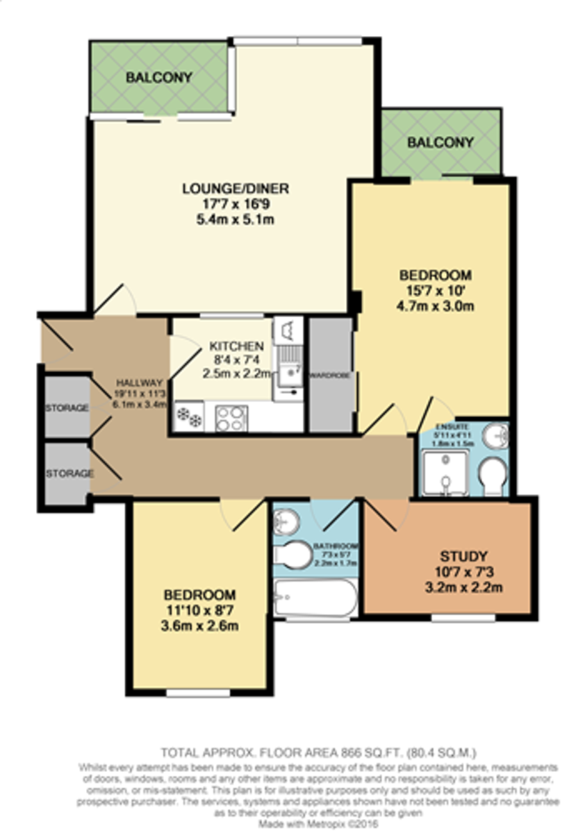Compass House, Plymouth floorplan