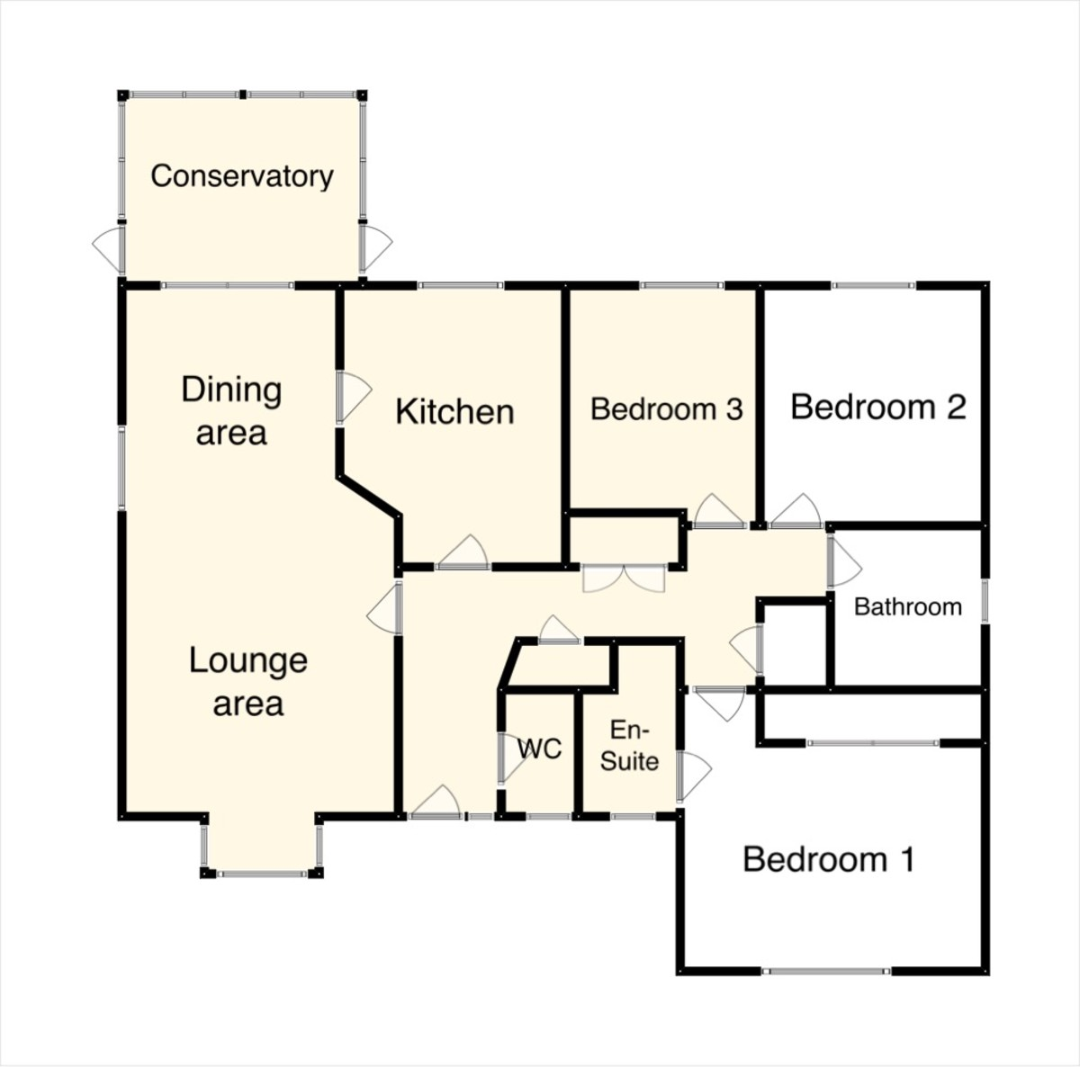 Floor Plan-Higher Sandygate, Newton Abbot